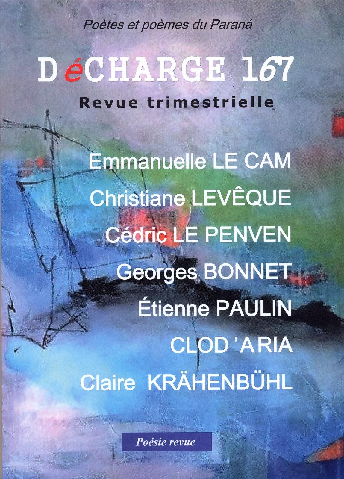 Géraldine Serbourdin, in Décharge 167, Revue trimestrielle