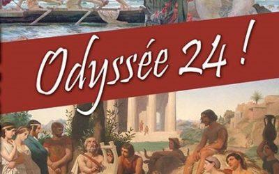 ULYSSE RETROUVE PÉNÉLOPE à Hyères :  LE CHANT XXIII DE L'ODYSSÉE LU PAR DES JEUNES du lycée Jean Aicard