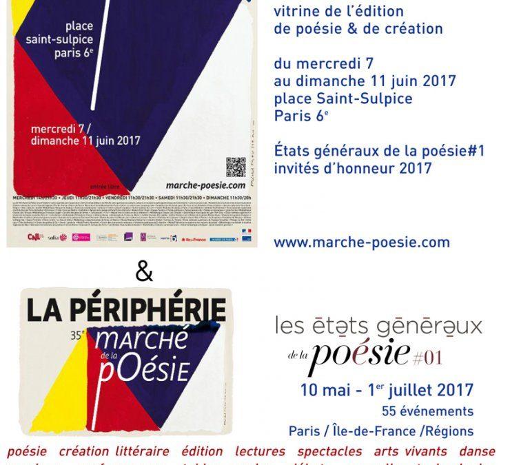 STAND 404 au 35 e Marché de la poésie Place St Sulpice Paris