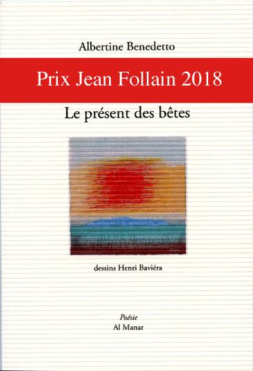 Prix Jean Follain 2018