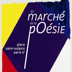 RV Vendredi 10 juin et Samedi 11 juin 2016 au Marché de la poésie Place st Sulpice, Paris 6ème