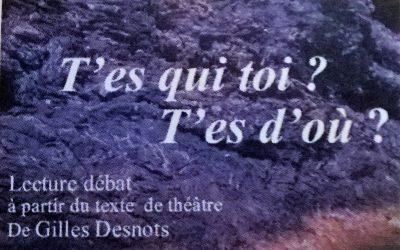 LECTURE-DÉBAT 16 NOVEMBRE 2016 AU MOULIN DES CONTES