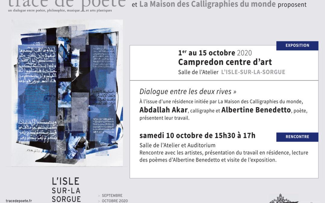 Expo-lecture à l'Isle-sur-la-Sorgue 10 octobre